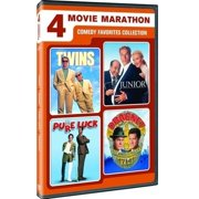 4 Movie Marathon: Comedy Favorites Twins   Junior   Pure Luck   Dragnet by Universal