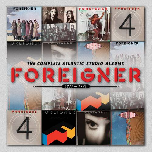 Foreigner: The Complete Atlantic Studio Albums 1977-1991 (7CD)