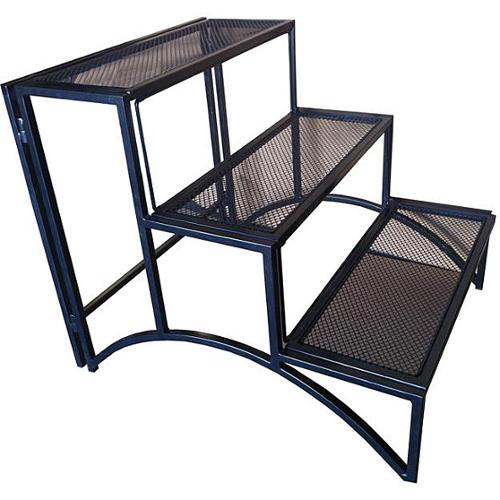Pangaea Home & Garden Folding Rectangle Three-layer Plant Stand by Overstock