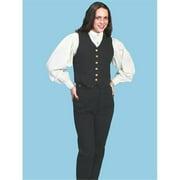 Scully RW527-BLK-L Women Rangewear Vest - Black, Large