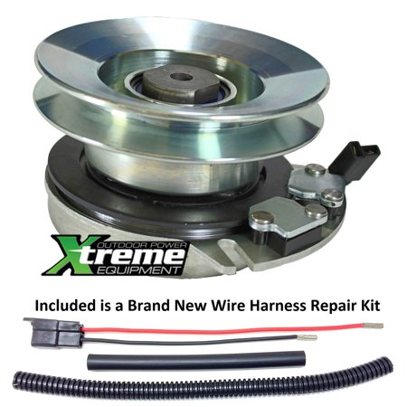 M 3 Clutch Kit - Bundle - 2 items: PTO Electric Blade Clutch, Wire Harness Repair Kit.  Replaces Troy Bilt 917-05121 Electric PTO Blade Clutch - w/ Harness Repair Kit !