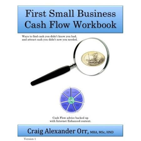 First Small Business Cash Flow Workbook - eBook