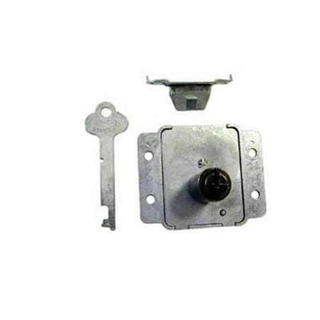 Les distributeurs de mat-riel N8414 04G KA poitrine Verrouillage Montage en surface - Laiton antique - image 1 de 1