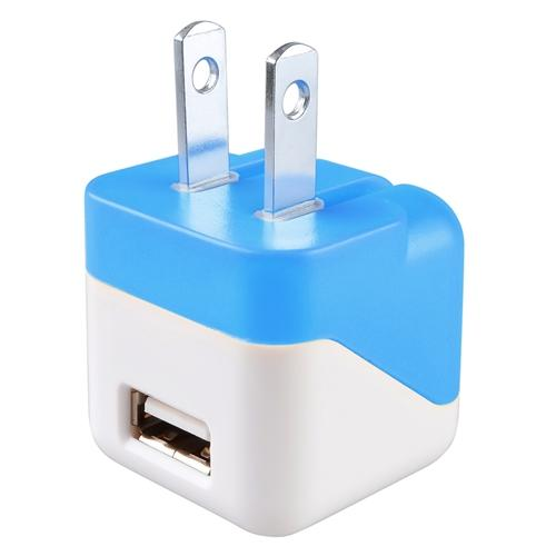 Insten Universal USB AC Wall Travel Adapter Charger For iPhone XS X 8 7 6 6s Plus SE 5S 5 Samsung Galaxy S9 S9+ S7 S6 Note 8 5 J7 sky pro J3 luna J1 On5 LG Stylo 3 K7 G6 G5 G4 G3 Blue