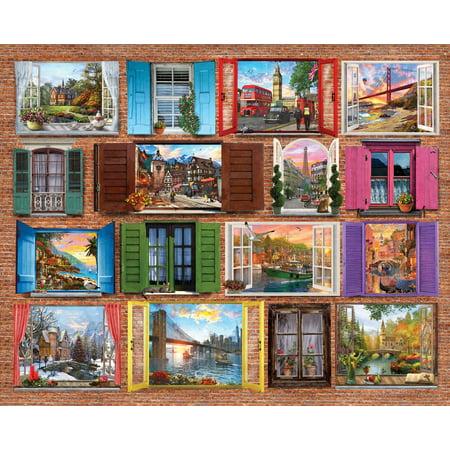 Windows To The World 1000 Piece Jigsaw Puzzle