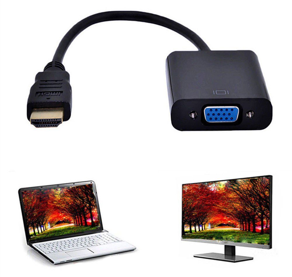 StarTech Mini HDMI to VGA Adapter Converter for D igital Still/Video Camera