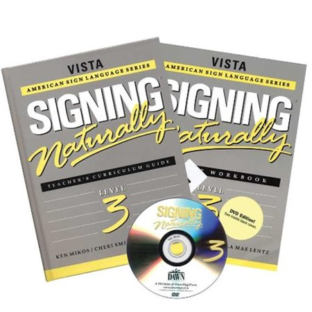 Signing Naturally Level 3  Teachers Curriculum Guide And Dvd