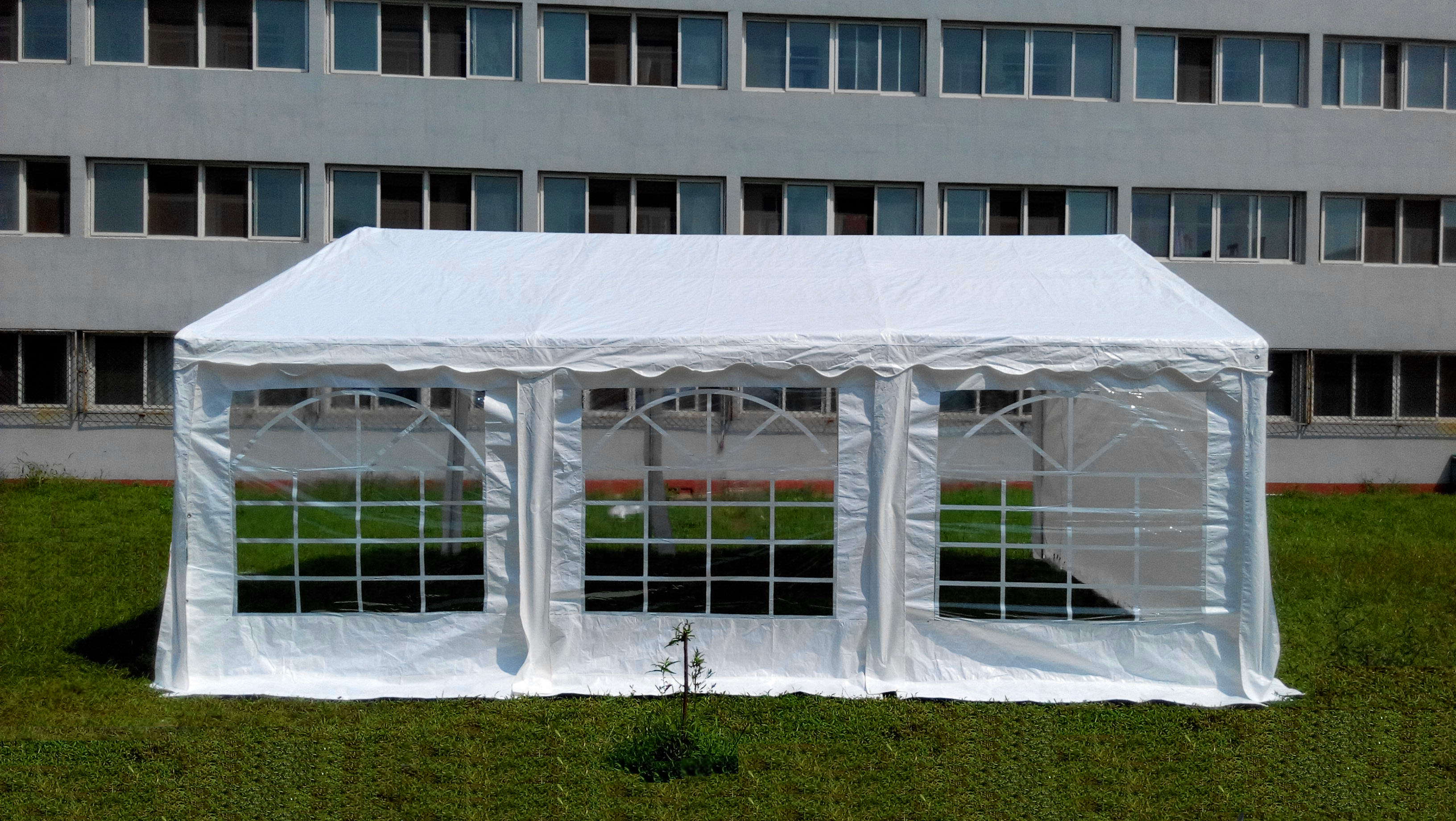 20 x 20 Ft Heavy Duty Commercial Party Canopy Car Shelter Wedding Camping Tent by