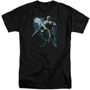Dark Knight Rises Battlefield Gotham Mens Big and Tall Shirt