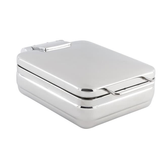 Bon Chef 20308NG 1 gal Rectangular Half Size Induction Chafing Dish No Glass & without Stand, 12.25 x 19 x... by