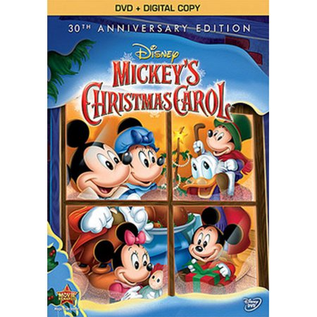 Mickeys Christmas Carol Dvd.Mickey S Christmas Carol Dvd