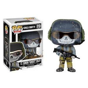Funko Pop  Games  Call Of Duty  Lt  Simon  Ghost  Riley