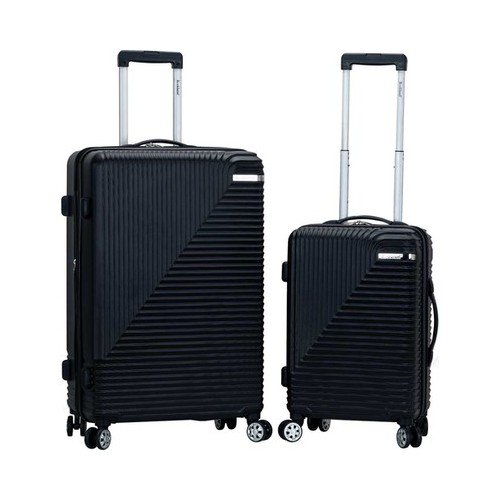 "Rockland Star Trail 2-Piece Hardside Luggage Set  28"" x 17"" x 12"""