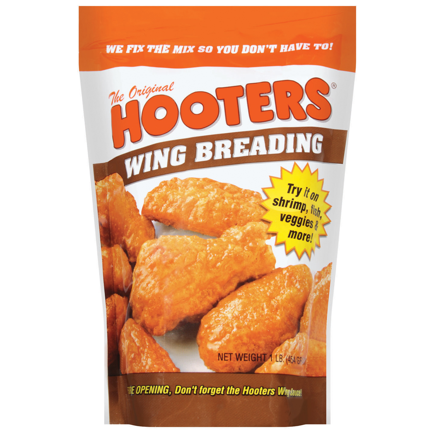 Hooters Wing Breading, 1 lb