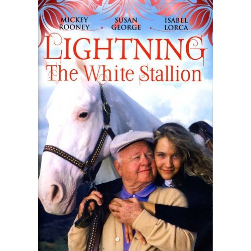 Lightning The White Stallion (Full Frame)