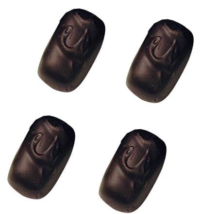 Asher's Sugar Free Dark Chocolate Raspberry Jells, 6 Pounds
