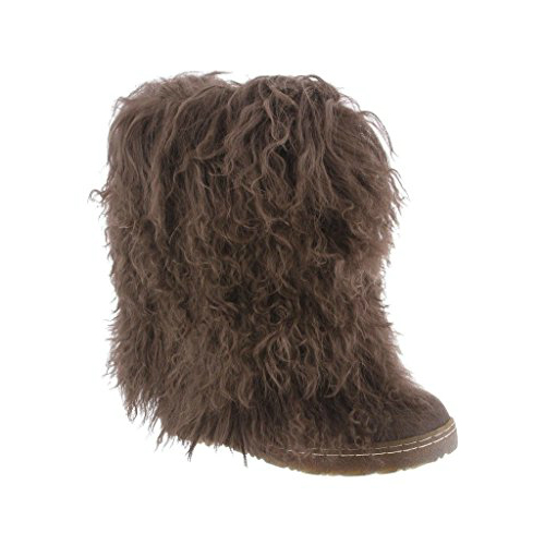 """Bearpaw Boetis II Chocolate 9 Womens Boetis II"" by Bearpaw"