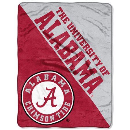 "- NCAA Alabama Crimson Tide ""Halftone"" 46""x 60"" Micro Raschel Throw"