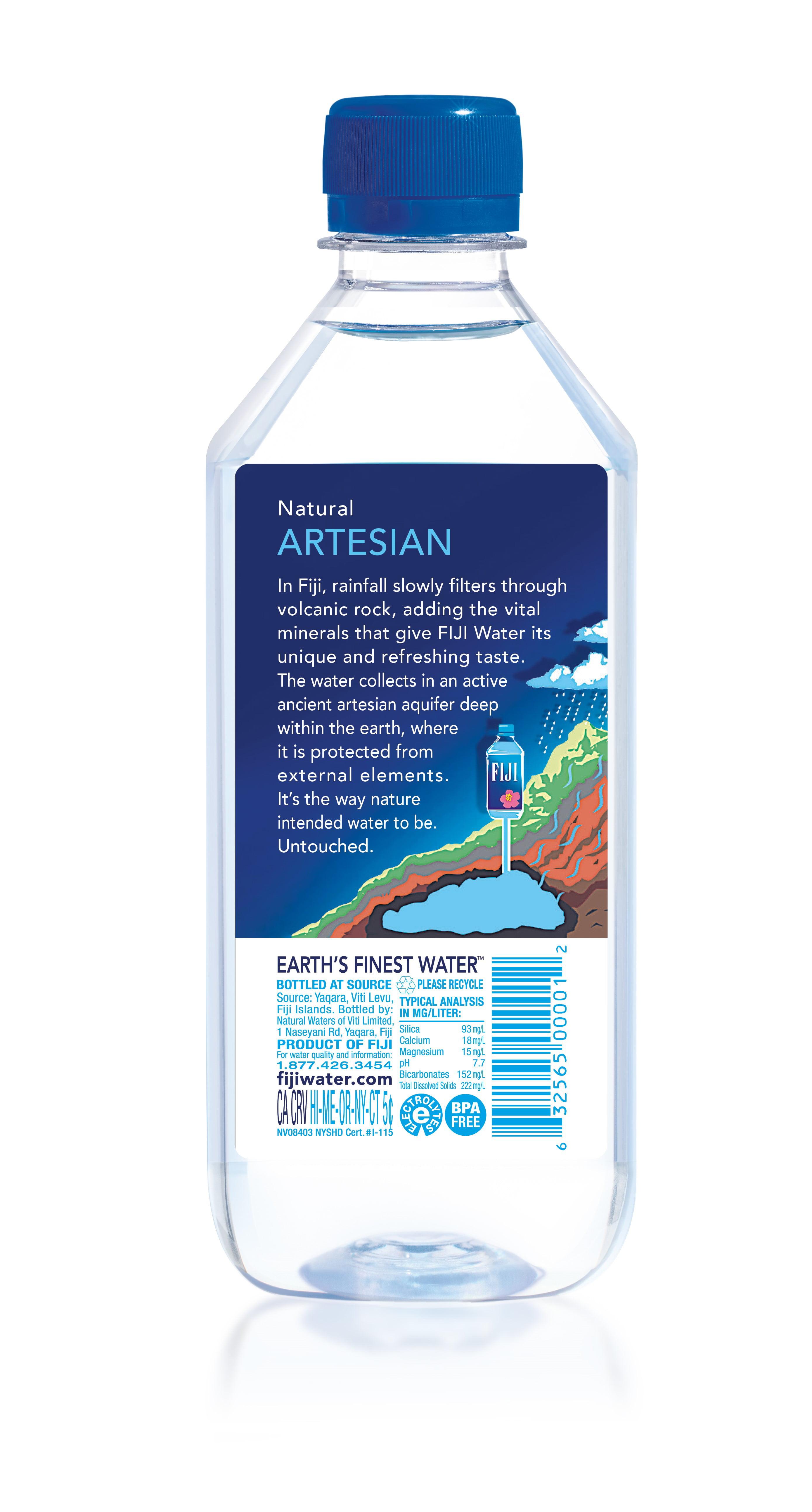 Fiji Natural Artesian Water, 16 9 Fl  Oz , 6 Count