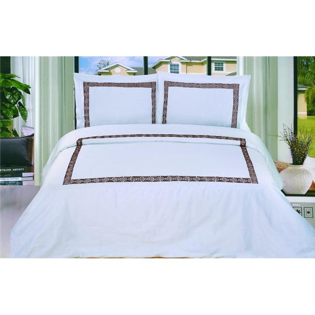 Simple Luxury Luxor Treasures Serena 3 Piece Duvet Cover Set