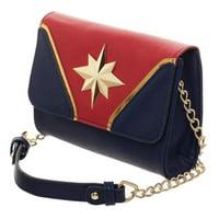 Captain Marvel Cross Body Handbag