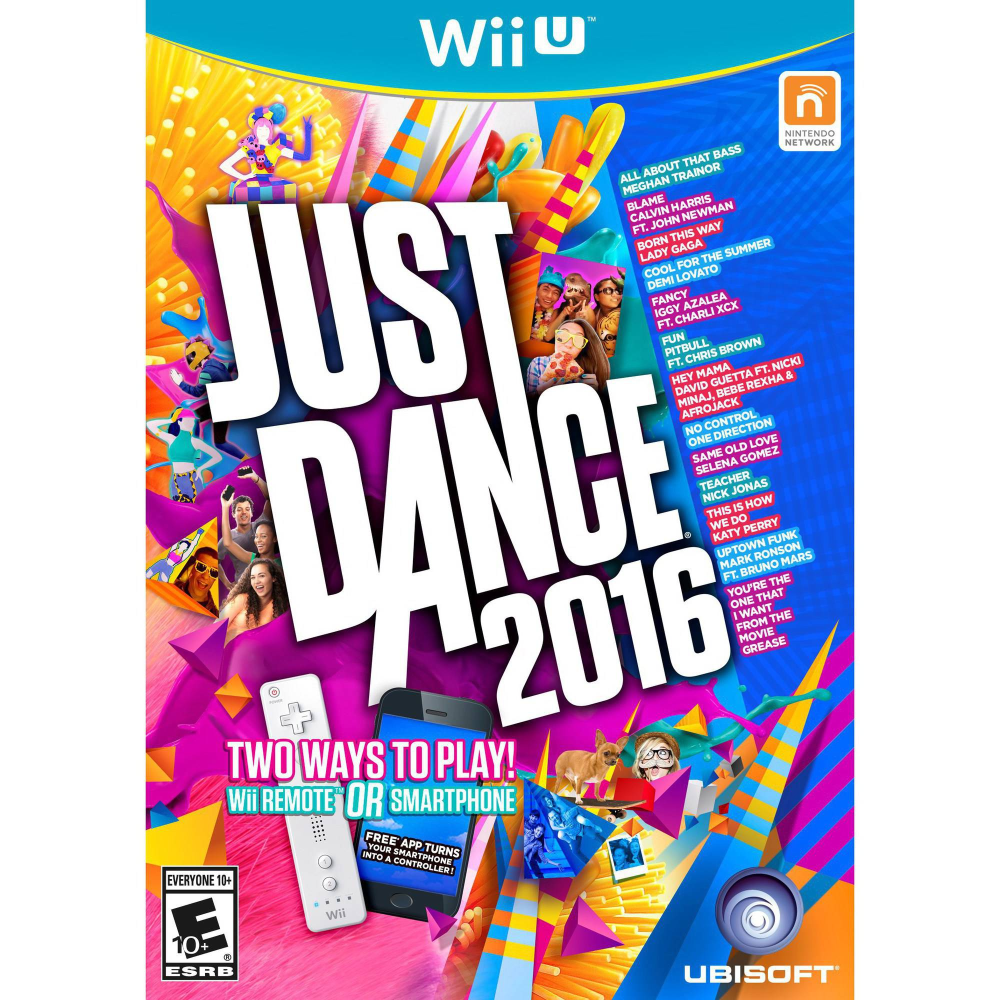 Just Dance 2016, Ubisoft, Nintendo Wii U, 887256014001