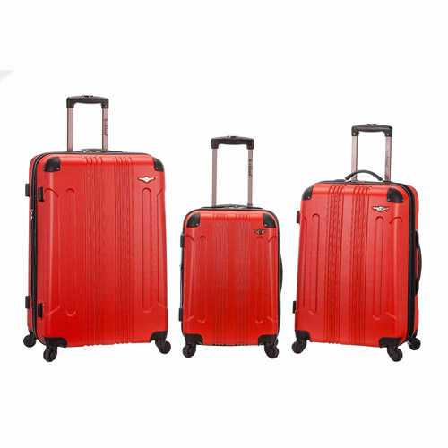 Rockland Luggage 3-Piece ABS Set