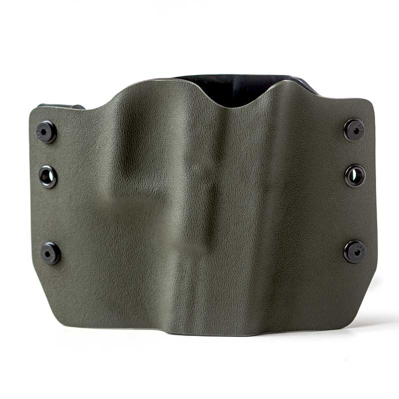Outlaw Holsters: OD Green OWB Kydex Gun Holster for Sprin...