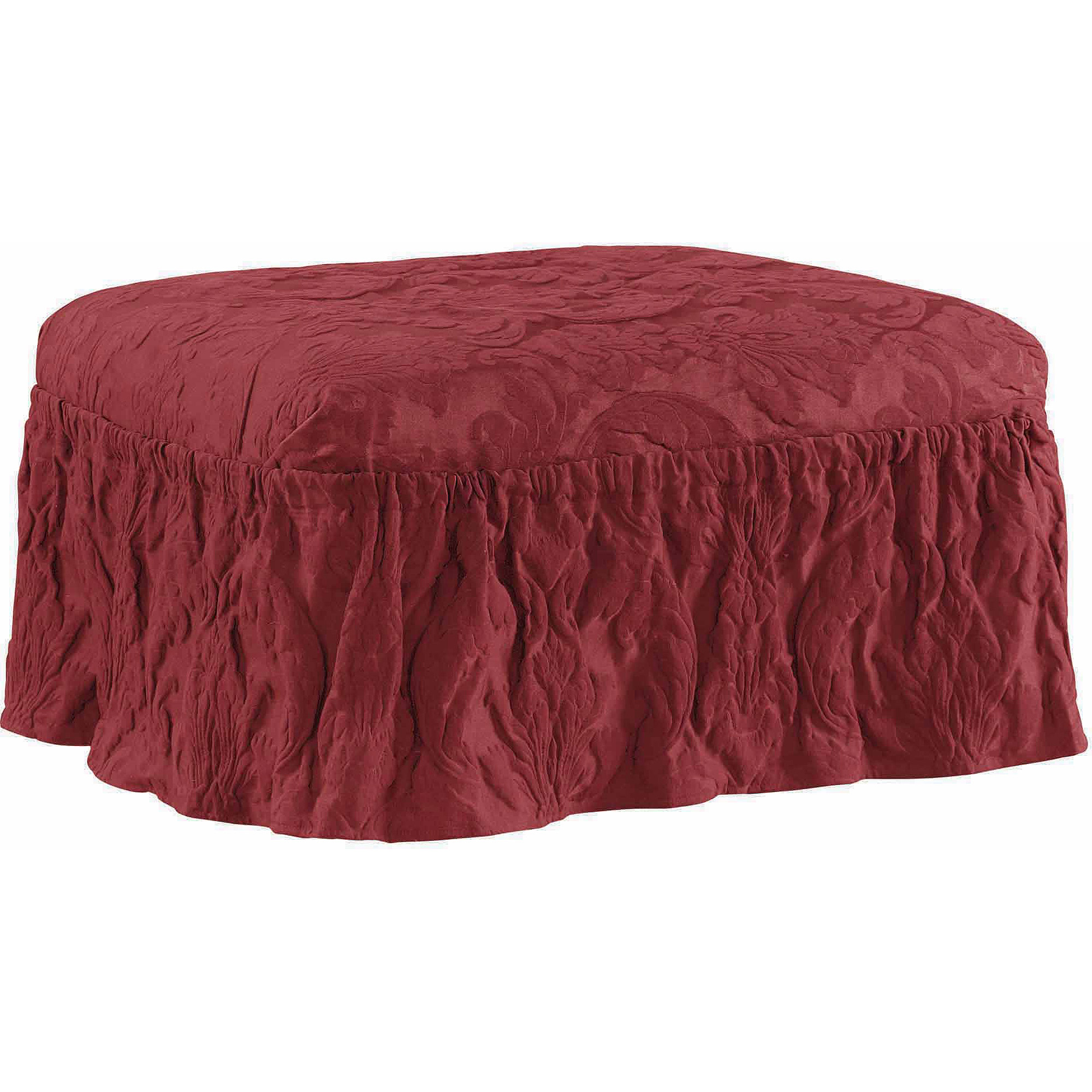 wayfair fit slipcover sure furniture ottoman matelasse pdx oversized reviews damask