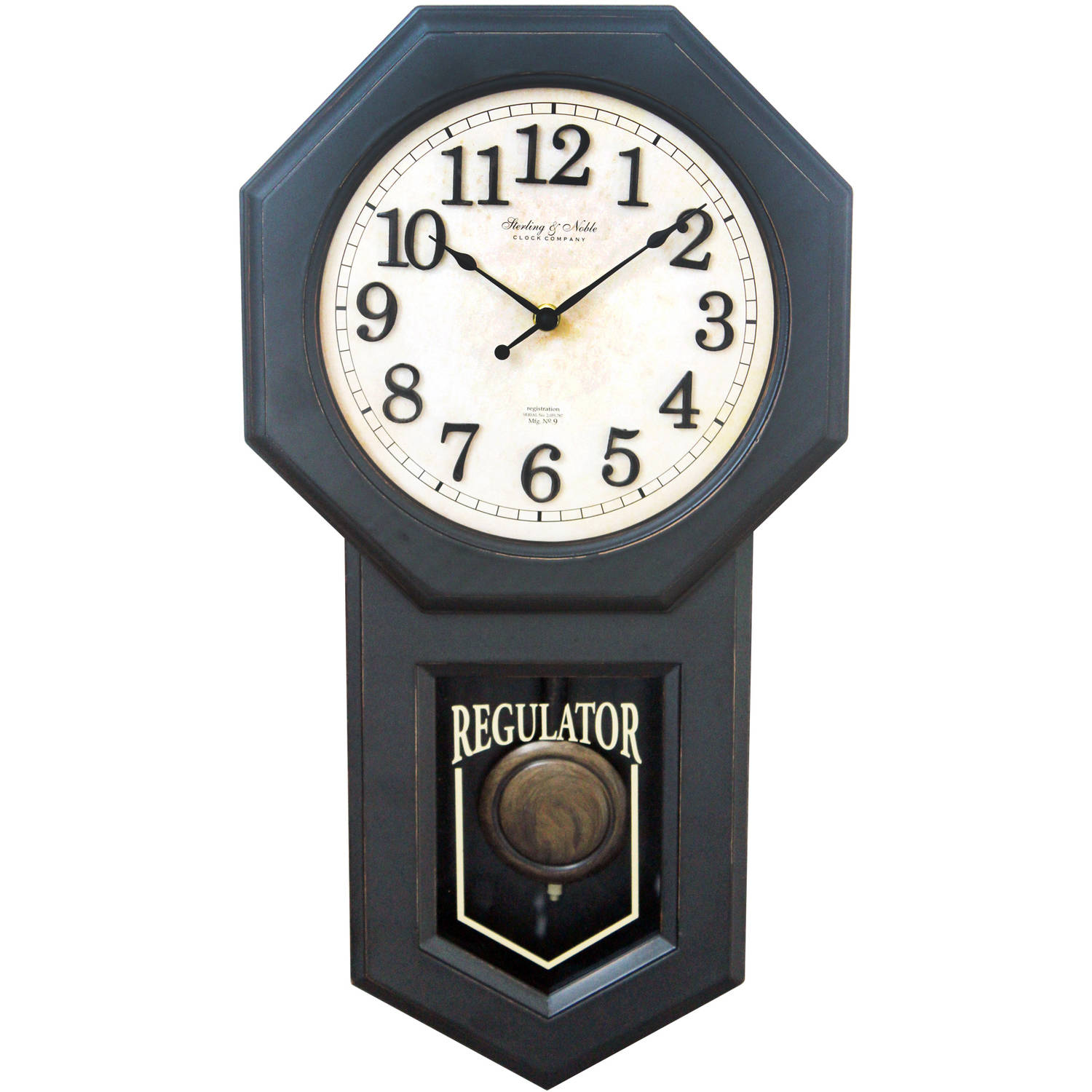 Better Homes and Gardens Schoolhouse Wall Clock