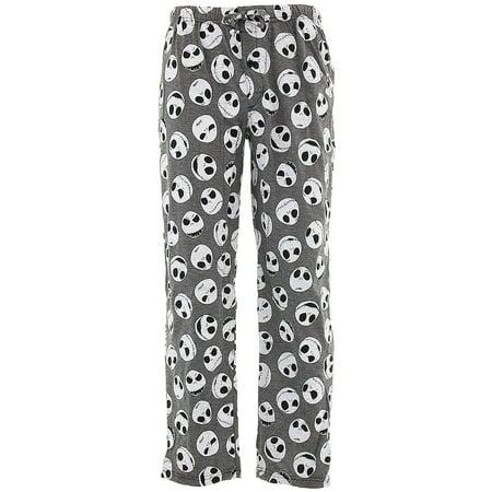 Nightmare Before Christmas Men's Jack Skellington Knit Pajama Pants