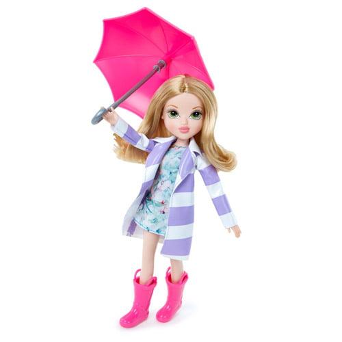 Moxie Girlz Raincoat Color Splash Bryten Doll