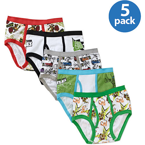 Teenage Mutant Ninja Turtles Boys Underwear 5 Pack