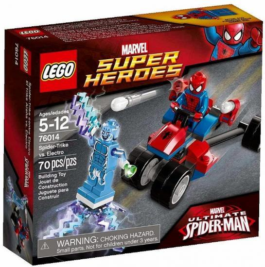 LEGO Super Heroes Spider-Trike vs. Electro Play Set