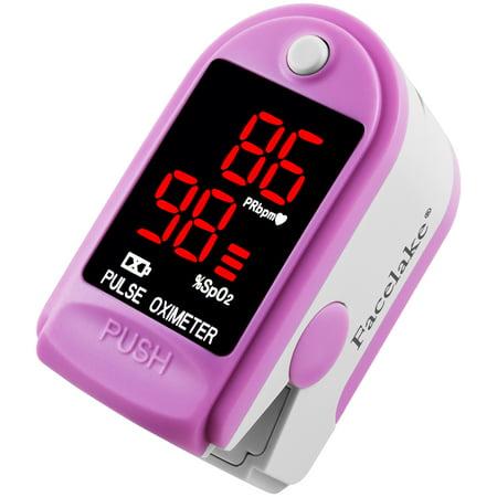 FaceLake FL-400 Fingertip Pulse Oximeter Pink