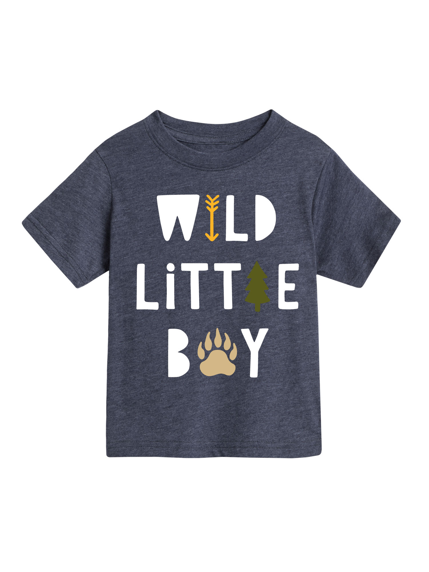 Wild Boy  - Toddler Short Sleeve Tee