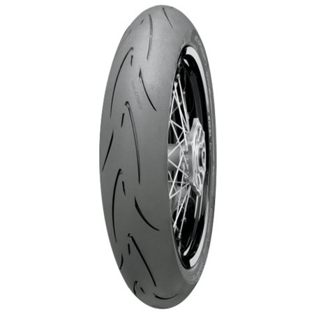 CONTINENTAL Attack SM Supermoto Radial Tire Front 110/70HR17 for Honda