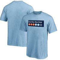 New York City FC Fanatics Branded Youth Hometown Collection T-Shirt - Light Blue