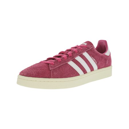 Adidas Men's Campus Semi Solar Pink / Running White Cream Ankle-High Suede Fashion Sneaker -