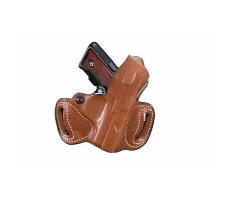 DeSantis Thumb Break Mini Slide Holster - Right, Tan, Plain  - Kimber S