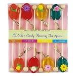 Assorted Flower Spoons: 6 Pack, 3 Count Gift Set