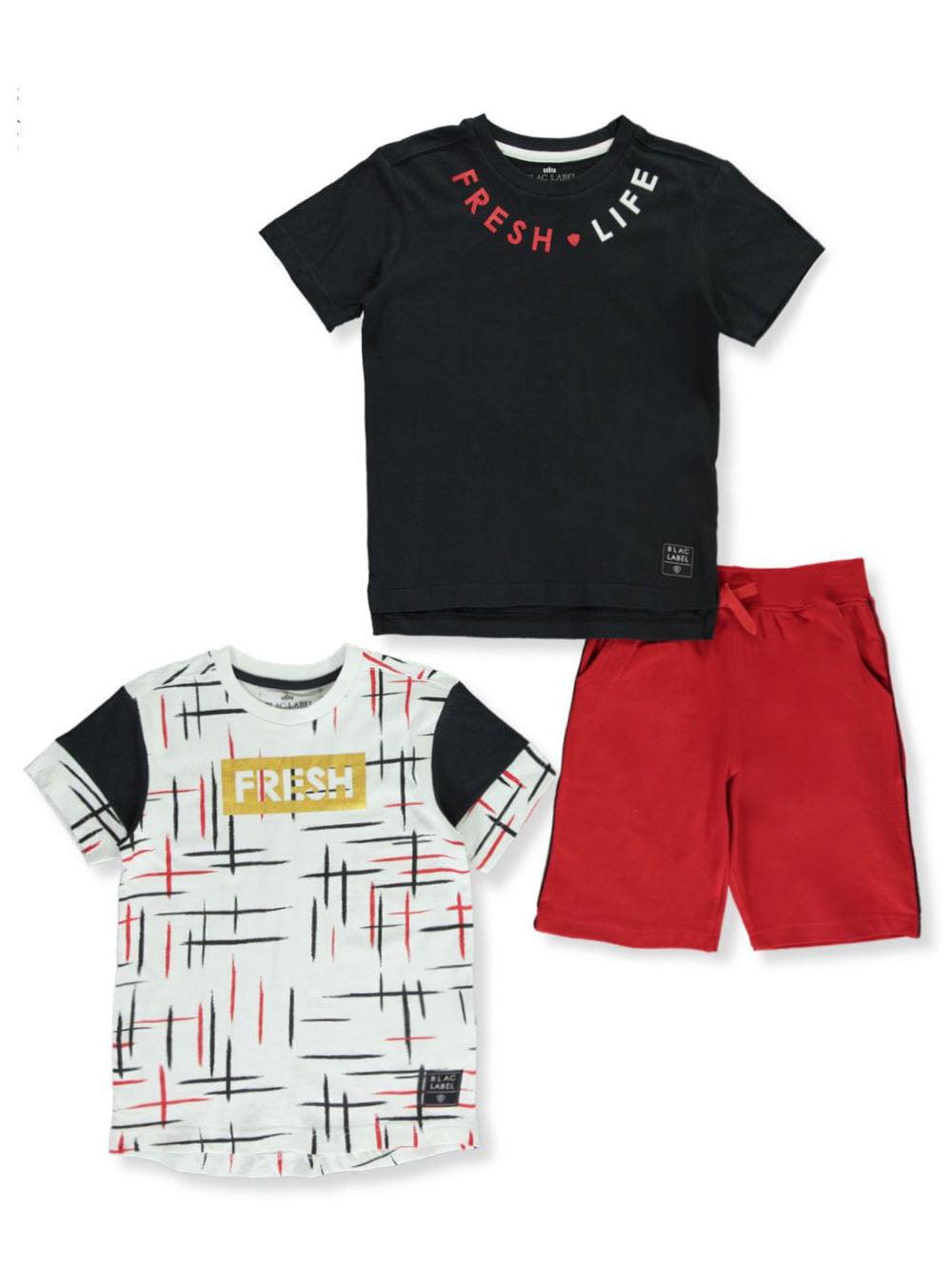 Blac Label Boys Drip 2-Piece Shorts Set Outfit
