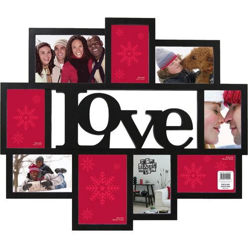 wagner love 9 opening collage frame black walmart com