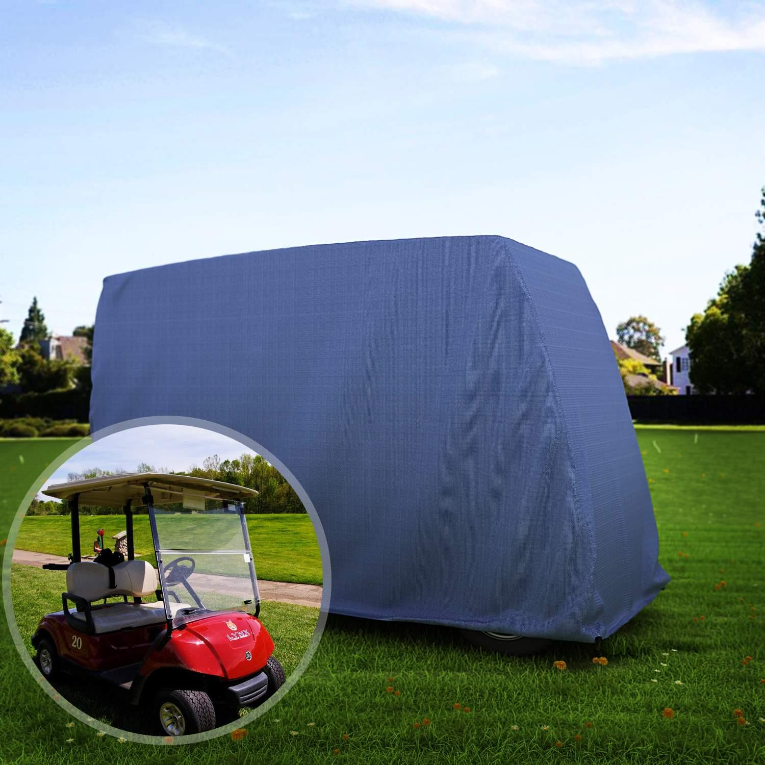 "Waterproof 58"" Golf Cart Cover Storage for 2-Person Golf ..."