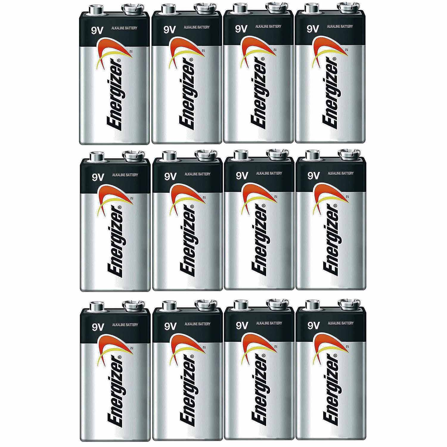 Energizer E522 Max 9 Volt Alkaline Battery - 12 Batteries + 30% Off!