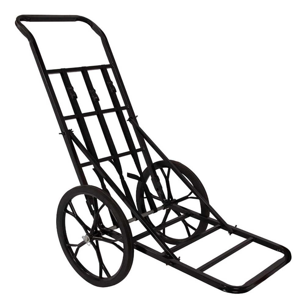 Summit Steel 16 Inch Rubber Wheels Game Cart For Game Up To 350