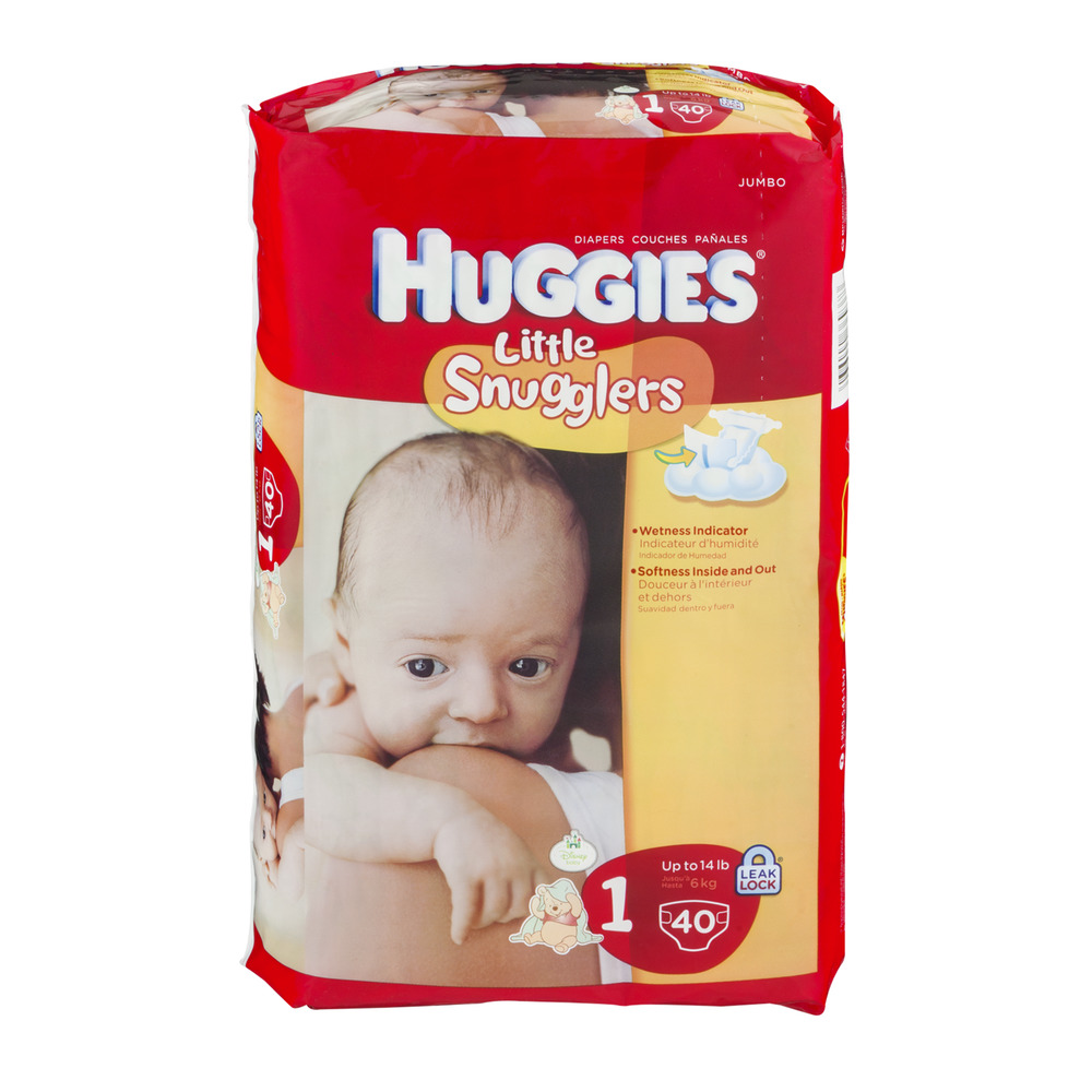 Huggies Little Snugglers Newborn Disney Diapers - 36 CT