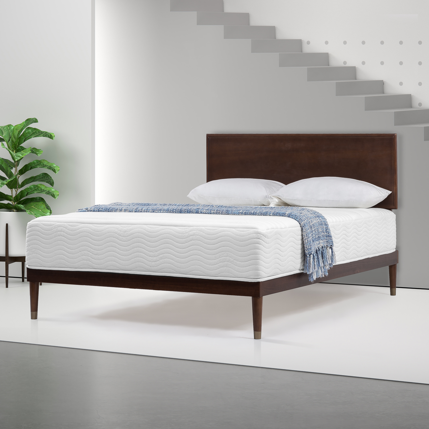Spa Sensations by Zinus 10'' Memory Foam and Spring Hybrid Mattress, Multiple Sizes