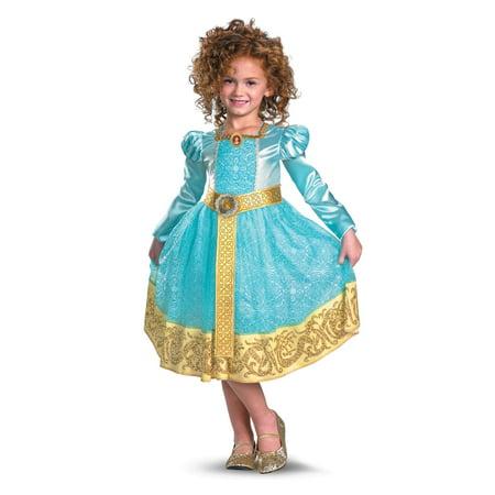 Merida From Brave Girls Costume 43603 - 3T-4T - Brave Merida Costume
