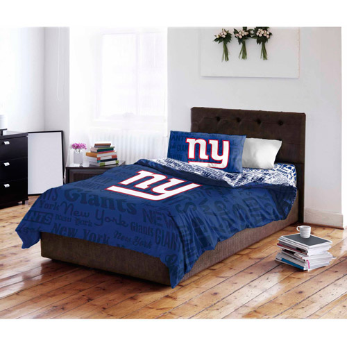 NFL New York Giants Bed in a Bag Complete Bedding Set Walmartcom